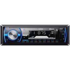 Pyle Marine Boat Stereo Radio Bluetooth AM FM Radio In Dash Receiver Black USB