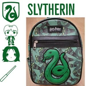 "Loungefly Harry Potter Slytherin House Mini Backpack Pottermore 11"""