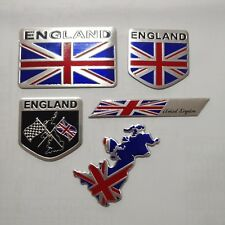 United Kingdom England 3D Decal Metal Emblem Badge Car Front Side Logo Sticker