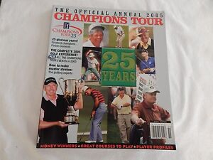 2005 PGA Champions Tour Official Annual! EXCELLENT! ONLY COPY ON eBAY!!