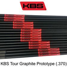 KBS Graphite Tour Prototype Hybrid (.370) shafts new uncut