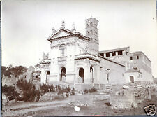 Italie .Italia . Rome . église Ste-Françoise-Romaine .photo ancienne.vers 1900
