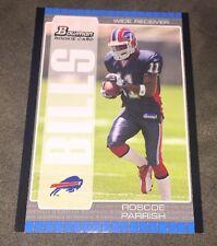 Roscoe Parrish (Bills) #138 Bowman Rookie Card 2005