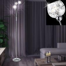 Design Decken Fluter Stand Steh Leuchte Lampe Licht Dimmer Kugeln Big Light