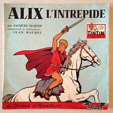 DISQUE 25 CM ALIX L'INTREPIDE - JACQUES MARTIN - JEAN MAUREL // TINTIN