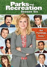 Parks And Recreation . The Complete Season 6 . Staffel . Amy Poehler . 3 DVD NEU