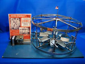 Rare 1948 Lionel No.502 Merry Go Round Construction Set Dealer Display, Ex+/OB
