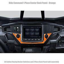 Polaris RZR XP1000 Ride Command Edition Bottom Dash Panel Orange Powdercoated