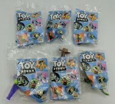 Disney Toy Story 1995 Complete Set of 6 New Sealed Burger King Collectible Toys
