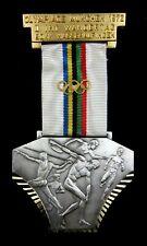 Munich 1972 Summer Olympic Games II. International Walking Day Medal