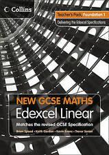 New GCSE Maths - Teacher's Pack Foundation 1: Edexcel Linear (A), Speed, Brian,