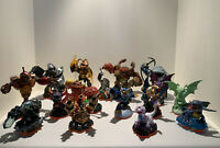 Lot of 18 Skylanders Figures Incl. Giants, Dragons etc. EXCELLENT Condition.