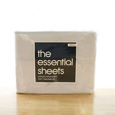 Bloomingdale's The Basic Essentials 300 TC Percale Twin Sheet Set Lavender P1130