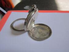 Swiss Silver Fusee Victorian Watch Case Spares Three Bears Hallmark