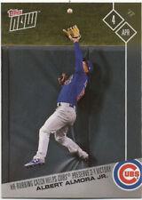 Albert Almora Jr Chicago Cubs Topps Now #11 April 4 2017 Baseball Card