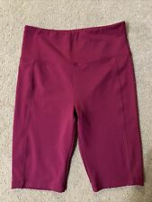 Bally Total Fitness Shorts Size Large L Exercise Athletic Gym Active Excellent!