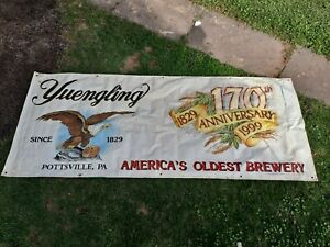 Yuengling 170th Anniversary Banner
