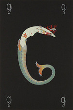 """ERTE SERIGRAPH, """"LETTER G"""" PENCIL SIGNED AND NUMBERED, LOOK AT MY STORE"""