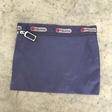 Le Sportsac LeSportsac Blue Travel Case Carrying Bag Makeup Toiletries
