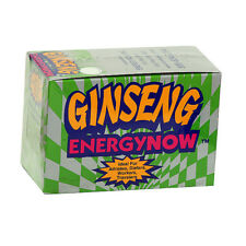 GINSENG Energy Now, Herbal Supplements (24 Packs x 3 Tablets Each) SEALED