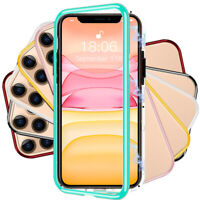 360° Magnetic Adsorption Hybrid Case Cover For iPhone 12 Pro Max 11 XR XS X 8 7