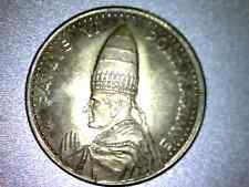 Antique Catholic Religious Holy Medal - ANNO SANTO 1975 ROMA - PAULUS VI