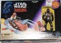 1996 Star Wars Kenner Swoop Purple Card!