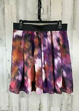 Vince Camuto Women's Skirt Pleated Multi Size 8 NWT