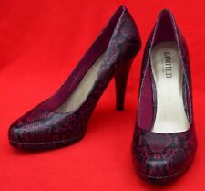 MARKS & SPENCER 'LIMITED EDITION' CROC EFFECT COURT SHOES - GREAT CONDITION!