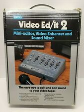 Sima Video Ed/it 2 Mini Editor Video Enhancer and Sound Mixer In Original Box