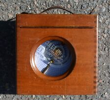 vintage Boddy and Ridewood pigeon racing timer clock
