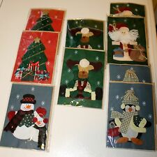 Christmas Handcrafted Notecard Set 9 Handcrafted Cards