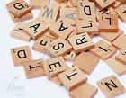 100 x High Quality Scrabble Tiles letters Tile Craft 1 Complete wooden Set