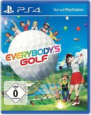 Everybody's Golf (Sony PlayStation 4, 2017)