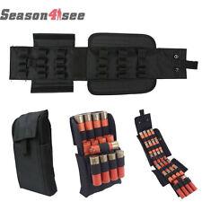 25 Round 12 Gauge MOLLE Shell Shotgun Reload Magazine Pouch Ammo Bag Black