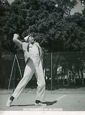 JACQUES TATI  LES VACANCES DE MONSIEUR HULOT 1953 VINTAGE PHOTO ORIGINAL