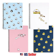 Convenience Store Foods Ruled Spiral School Stationery Notebook 1Pc : 4 Designs