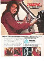 1972 Royal Industries Grant Tilt Wheel Terrific But Look Aren't Everything! Ad