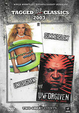 Tagged Classics 2003: Summerslam/Unforgiven by Wwe Free Shipping!