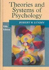 Theories and Systems of Psychology-ExLibrary