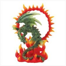 Ring Of Fire Dragon Figurine