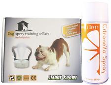Humane Citronella Spray Collar & Huge 250gm Refill - Anti Bark Dog Value kit