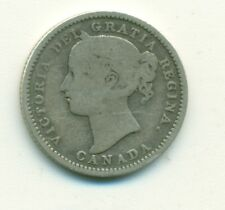 Canada 10 cents 1894 Good 6
