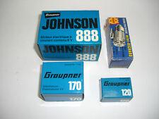 Graupner  Elektromotoren Konvolut Johnson MARX neu OVP 70er Lagerfund