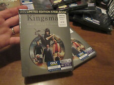 KINGSMAN THE SECRET SERVICE Blu-ray & Digital HD exclusive * STEELBOOK * RARE