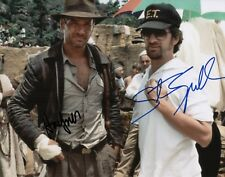 Steven Spielberg & Harrison Ford Signed Indiana Jones 11x14 Photo COA