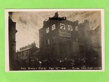 More details for fire portland shoe works leicester t roberts & sons 1908 unused  rp pc ref a941