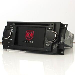 Car DVD Radio GPS Navi Stereo For Jeep  Dodge Ram Chrysler 300C Backup Camera
