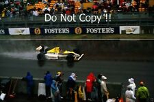THIERRY BOUTSEN Williams FW13 WINNER AUSTRALIAN GRAND PRIX 1989 fotografia 1