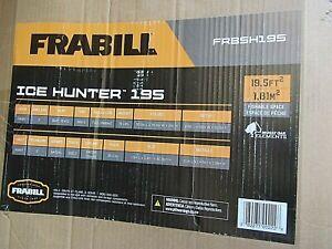 Frabill Ice Hunter Front Door 195 Flip over style shelter